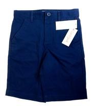 Cat & Jack Boys Size 10 Cotton School Uniform Chino Shorts Pockets Navy ... - $6.92
