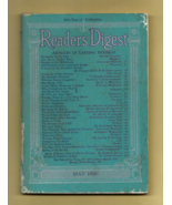 End-of-the-Depression Era READER'S DIGEST Magazine, May, 1940 - Good Con... - $5.50