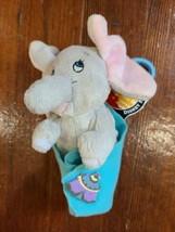 Disney Parks - Disney Babies Dumbo Keychain Baby Plush with Blanket - $14.50