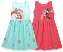 Minnie Mouse and Daisy Duck Nightshirt Set For Girls 4T Besties NWT 2 Nightgowns - $33.96