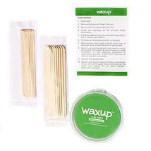 Waxup Microwave Hard Wax Kit, Aloe Vera, 7 Ounces Pot with 8 Large Wax Sticks, H image 2
