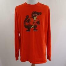 Champion Florida Gators Distressed Graphic Long Sleeve T Shirt Mens Sz 2XL - $28.93