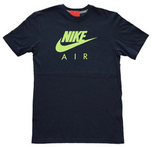 NIKE Air Max Logo T-Shirt sz S Small Obsidian Blue Green Trainer Max Seahawks - $29.99
