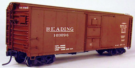 Funaro & Camerlengo HO Reading XMv Steel Boxcar Kit 8390 image 2