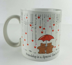 Friendship Is A Special Kind Of Love Coffee Cup Mug Russ Berrie Valentin... - $8.15