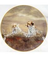 A Moments Rest Grand Safari Bradford Exchange Porcelain Collector Plate - $12.19