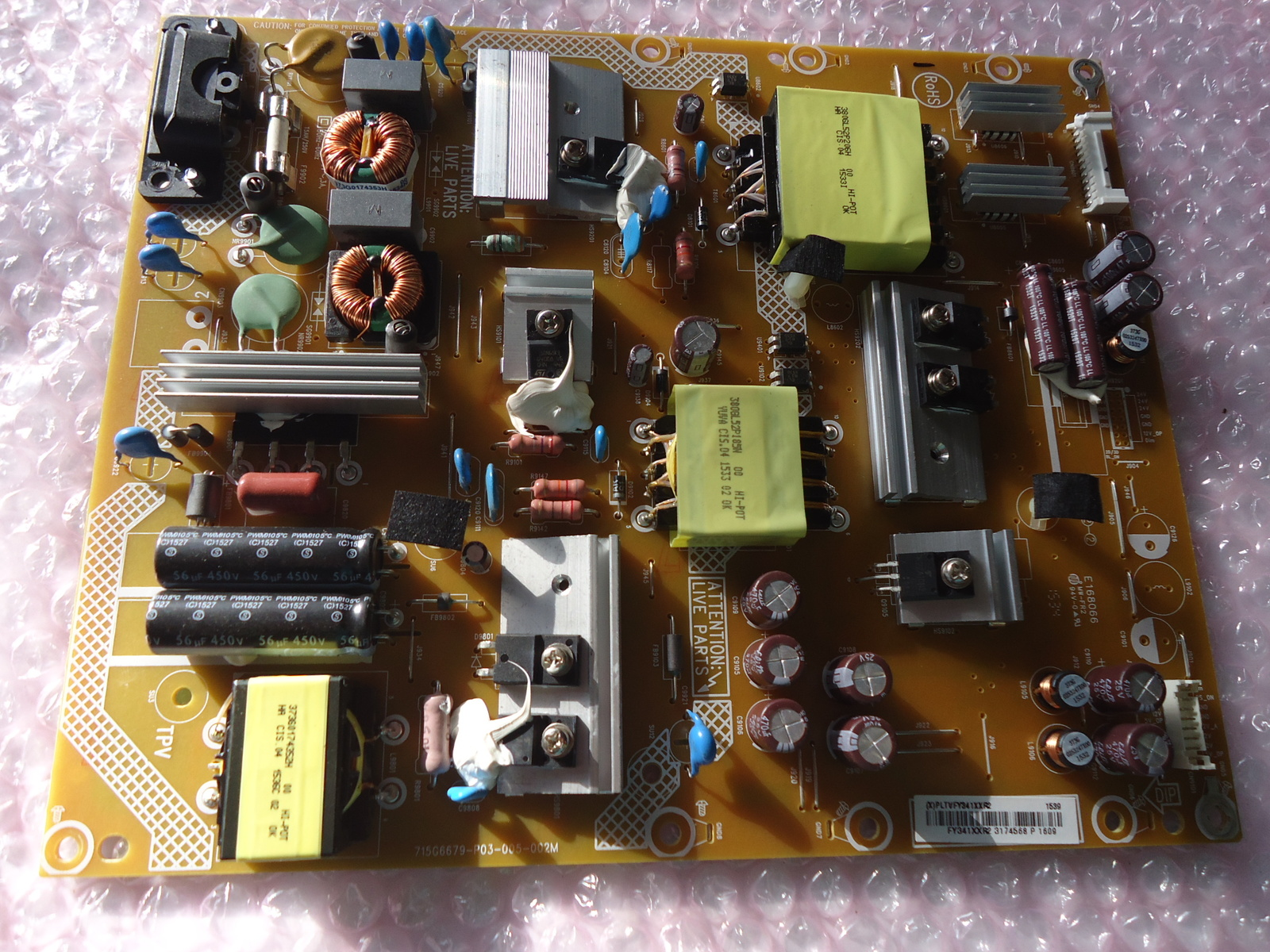 Primary image for HAIER 49E4500R POWER SUPPLY BOARD PART# 715g6679-p03-005-002m