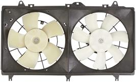 A/C DUEL FAN ASSEMBLY 620-579 FOR 12 13 14 15 CHEVROLET CAMERO 3.6L V6  image 3