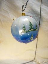 Vaillancourt Folk Art Jingle Ball Black Lab Santa Ornament image 3