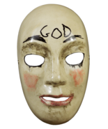 Trick or Treat Purge Anarchy God Injection Mask Adult Halloween Costume ... - $21.49