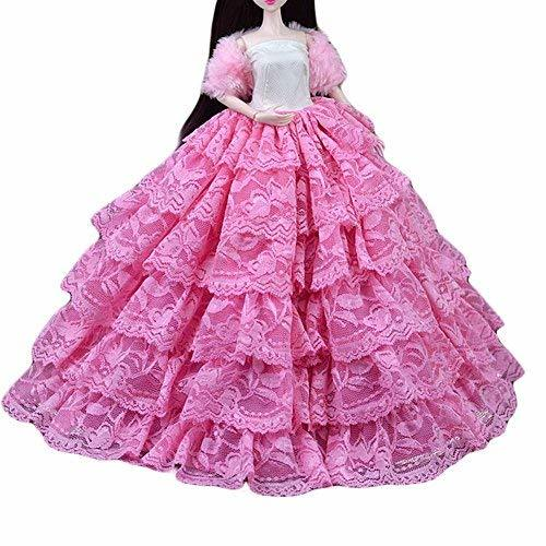 PANDA SUPERSTORE Handmade Doll Clothes Doll Evening Dress Doll Accessory Doll Dr
