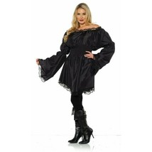 Underwraps Versatile Peasant Pirate Shirt Black Adult Halloween Costume ... - $24.99
