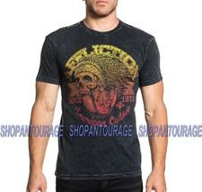 Affliction Bull Run Water A18389 New Men`s Black T-shirt - $41.95