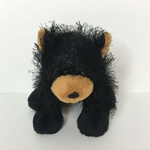 "Webkinz Ganz Black Bear Plush Stuffed Animal Beanie 6"" Tall No Codes - $9.89"