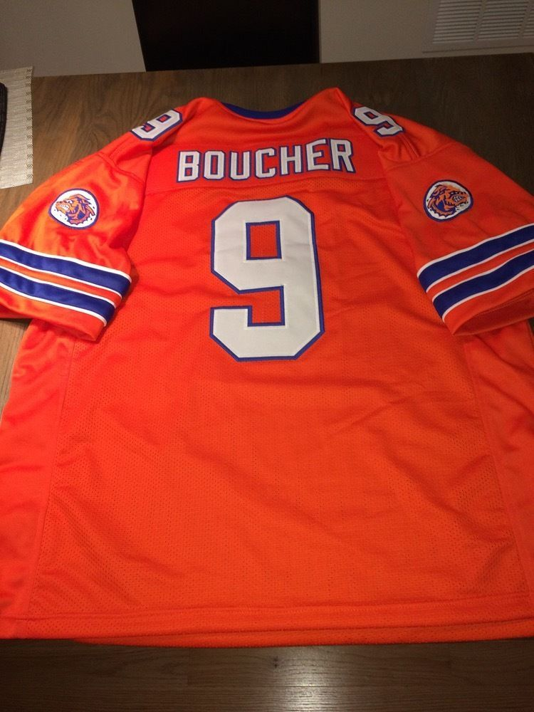 43e92fb42be S l1600. S l1600. Previous. Bobby Boucher #9 The Waterboy Adam Sandler Mud  Dogs Football Jersey ...