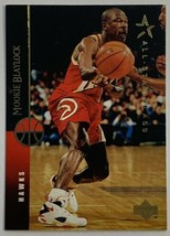 1994-95 Upper Deck #321 Mookie Blaylock Atlanta Hawks Basketball Card - $2.93