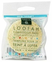 NEW Earth Therapeutics Complexion Pads Loofah Skin Therapy 3 Count - £4.43 GBP