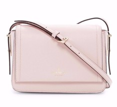 NWT KATE SPADE Vikki Bailey Street Pebble Posypink Leather Crossbody WKR... - ₨9,028.91 INR