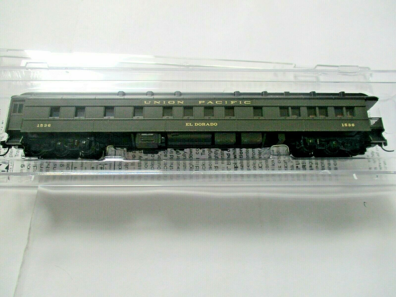 Micro-Trains #14400420 Union Pacific Heavyweight 3-2 Observation Car N-Scale
