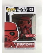 Funko POP! Star Wars  Red Storm Trooper  #05 Target Exclusive F1 - $19.80