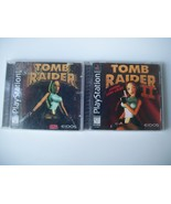 Tomb Raider Sony Playstation PS1 1 and 2 II Eidos - $29.95