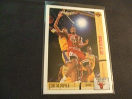 1991-92 Upper Deck #125 Scottie Pippen -Chicago Bulls- - $3.12