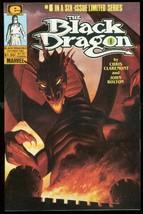 BLACK DRAGON #5 1986-MARVEL COMICS-LIMITED SERIES VF - $18.62