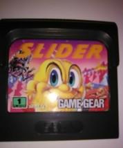 Slider (Sega Game Gear, 1991) Handheld Video Game Puzzle Fuzzy Cartoon M... - $9.89
