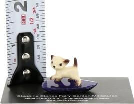 Hagen Reanker Miniature Cat Siamese Kitten Walking on Base Stepping Stones #2733 image 2
