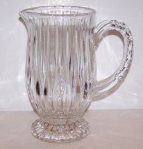 STUNNING MIKASA CRYSTAL PARK LANE FOOTED PITCHER - $64.34
