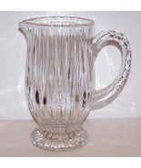 STUNNING MIKASA CRYSTAL PARK LANE FOOTED PITCHER - $54.69