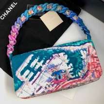 CHANEL Matelasse Hand Shoulder Bag Multi Auth New Unused Limited Rare Gu... - $3,160.25