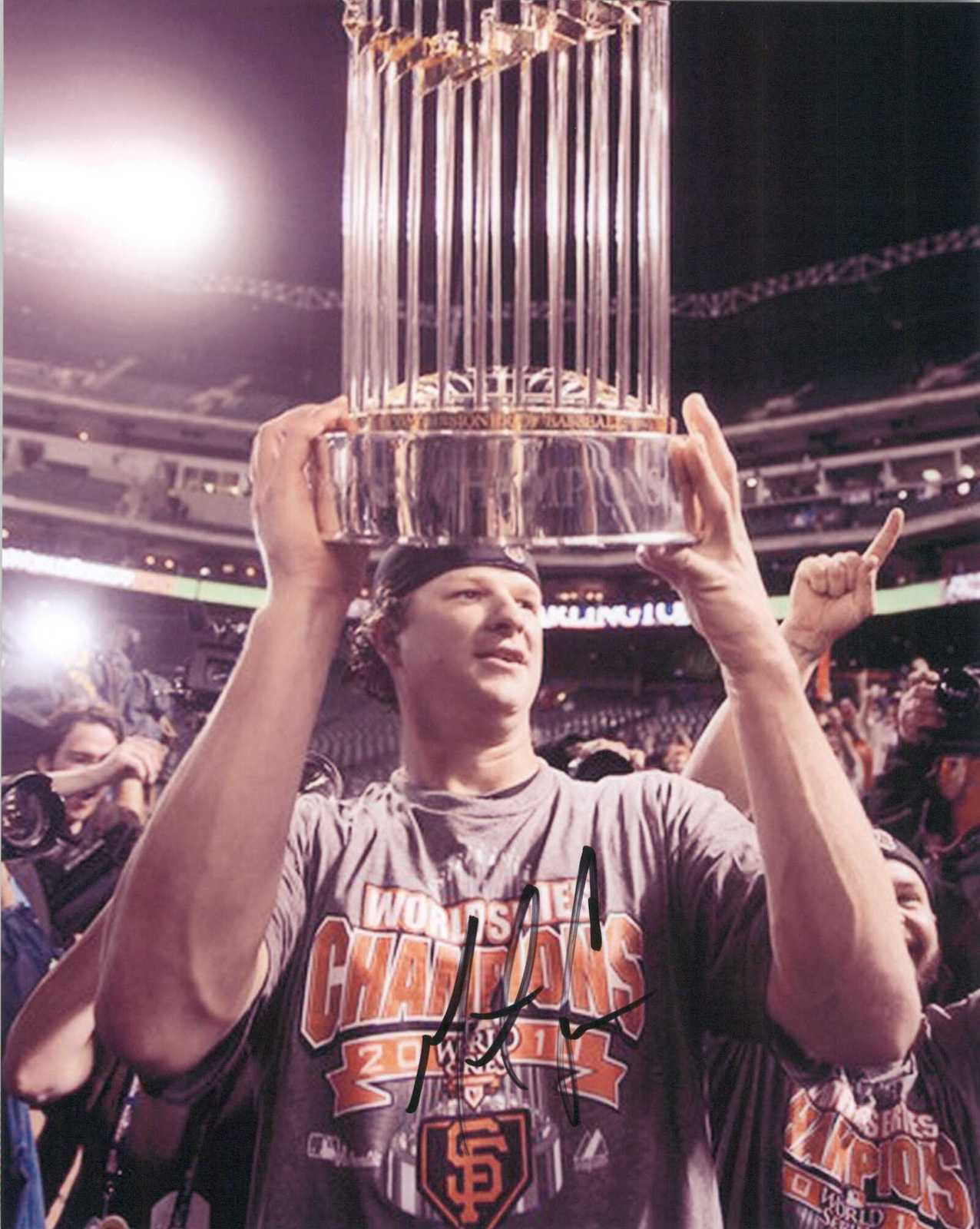 Primary image for Matt Cain Signed Autographed Glossy 8x10 Photo - San Francisco Giants