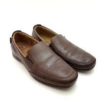 Mephisto Cool Air Mens Leather Slip On Brown Driving Loafers Size 9 M Sh... - $36.37