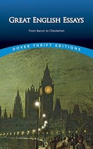 Great English Essays: From Bacon to Chesterton (Dover Thrift Editions) [Paperbac image 2