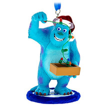 Disney Parks Sulley with Lights Christmas Holiday Resin Ornament New with Tags - $25.00