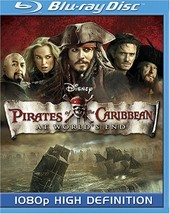 Disney Pirates of the Caribbean: At World's End [Blu-ray] (2007)