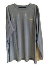 Columbia Men's XL PFG Blue / White  Long Sleeve Shirt Omni-Shade Shiny - $64.97