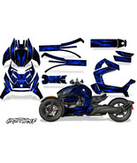 Full Body Wrap Graphic Sticker Decal for Can-Am Ryker 2019 - Nightwolf Blue - $287.05