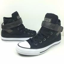 New Converse All Star Size Womens 6 Hi Top Strap Canvas Shoe Chuck 555045F - $37.99