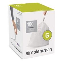 Simple Human Drawstring Trash Bags 100pk Custom Fit 8 Gallon Garbage Tie... - $32.83