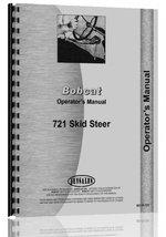 Bobcat 721 Skid Steer Loader Operators Manual [Plastic Comb] [Jan 01, 20... - $25.73