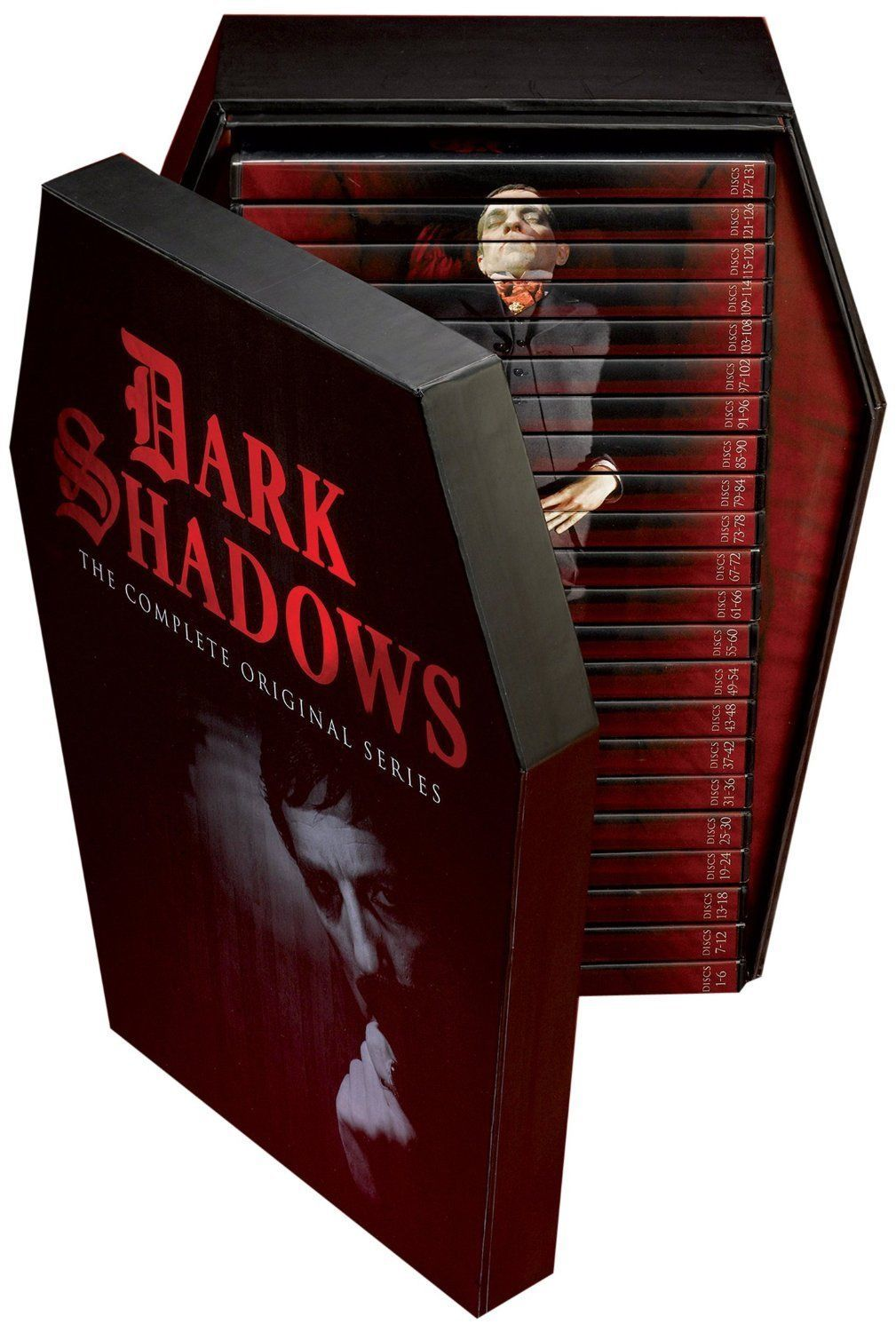 Primary image for Dark Shadows The Complete Original TV Series 131-Disc Deluxe BoxSet Collection