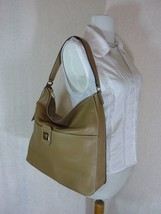 NWT Furla Cappuccino Pebbled Leather Jo Vertical Tote Bag image 2