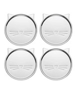 Kate Spade New York Silver Wit 3.75 Inches Cat Coaster Set of 4 - $29.99
