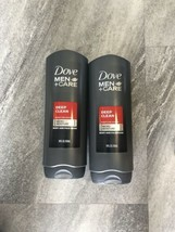 2 Dove Men + Care Body and Face Wash, Deep Clean, 18 fl oz  - $12.86