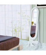 Dressing Mirror Cheval Style Full Length Bedroom Floor Adjustable Tilt W... - $44.99