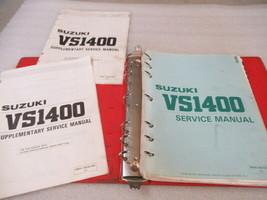 Suzuki VS1400 Service Manual Binder P/N 99500-39075-03E - $48.36