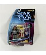 1997 Star Trek Warp Factor Series Sisko as a Klingon Action Figure  - $19.75