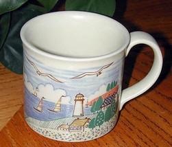 New England Stile Cape COD Faro Folk Art Tazza - $22.65
